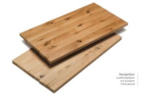 leimholzplatten eiche durchgehende lamellen gel nder f r au en. Black Bedroom Furniture Sets. Home Design Ideas